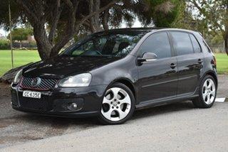 2006 Volkswagen Golf V GTI DSG Black 6 Speed Sports Automatic Dual Clutch Hatchback.