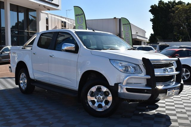 Used Holden Colorado RG MY16 LTZ Crew Cab, 2016 Holden Colorado RG MY16 LTZ Crew Cab White 6 Speed Sports Automatic Utility