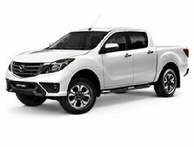 Demo Mazda BT-50 UR0YG1 XTR 4x2 Hi-Rider, 2019 Mazda BT-50 UR0YG1 XTR 4x2 Hi-Rider Cool White 6 Speed Manual Utility
