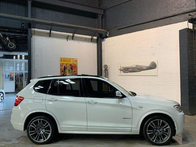 Used BMW X3 F25 MY0412 xDrive30d Steptronic, 2012 BMW X3 F25 MY0412 xDrive30d Steptronic White 8 Speed Automatic Wagon