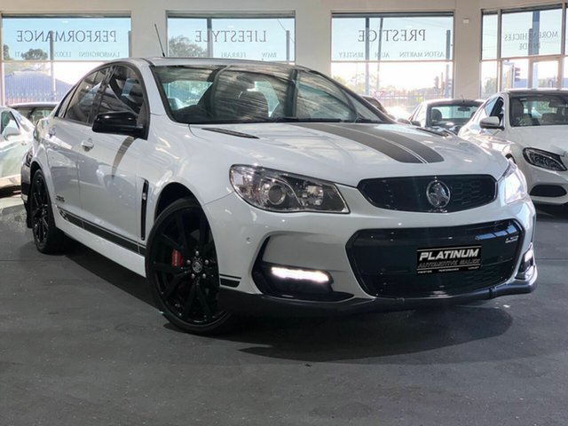 Used Holden Commodore VF II MY17 SS V Redline, 2017 Holden Commodore VF II MY17 SS V Redline White 6 Speed Sports Automatic Sedan