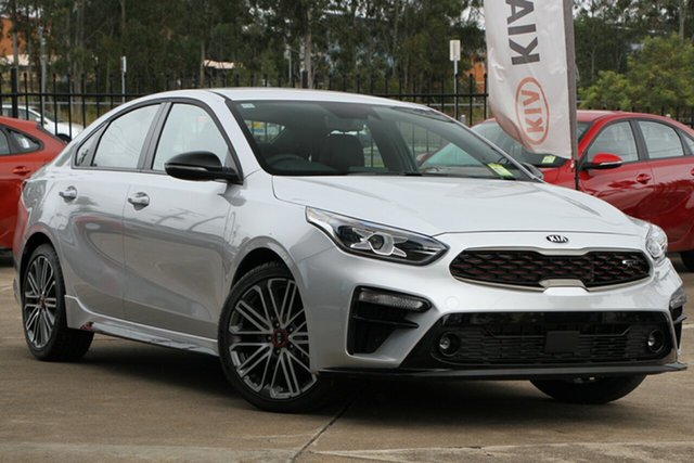 Used Kia Cerato BD MY20 GT DCT, 2019 Kia Cerato BD MY20 GT DCT Silky Silver 7 Speed Sports Automatic Dual Clutch Sedan