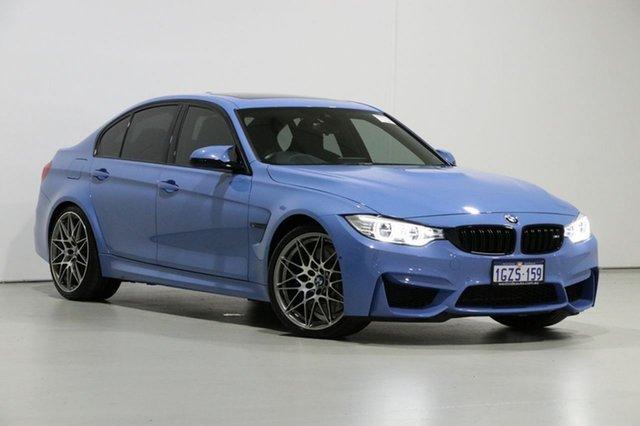 Used BMW M3 F80 LCI MY17 Competition, 2016 BMW M3 F80 LCI MY17 Competition Blue 7 Speed Auto Dual Clutch Sedan