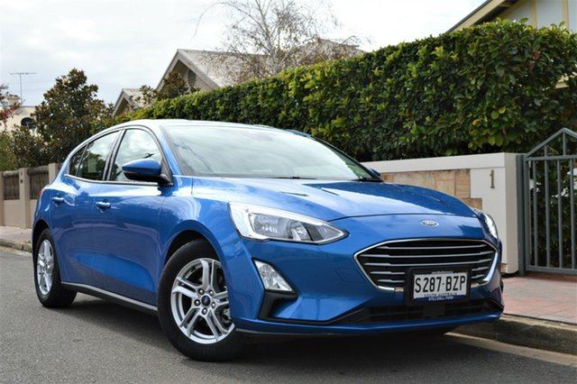 Used Ford Focus SA 2019.25MY Trend, 2018 Ford Focus SA 2019.25MY Trend Blue 8 Speed Automatic Hatchback