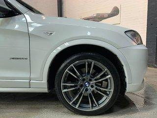 2012 BMW X3 F25 MY0412 xDrive30d Steptronic White 8 Speed Automatic Wagon.