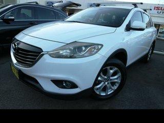 2012 Mazda CX-9 10 Upgrade Classic (FWD) White 6 Speed Auto Activematic Wagon.