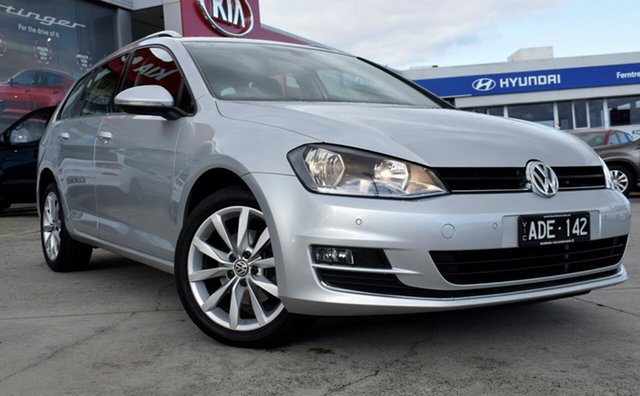 Used Volkswagen Golf VII MY15 103TSI DSG Highline, 2014 Volkswagen Golf VII MY15 103TSI DSG Highline Silver 7 Speed Sports Automatic Dual Clutch Wagon