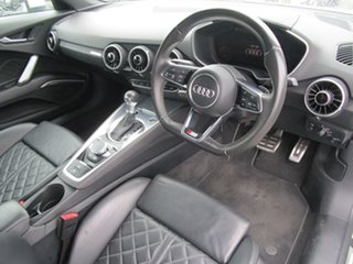 2015 Audi TT FV MY16 S Line S Tronic Quattro White 6 Speed Sports Automatic Dual Clutch Coupe