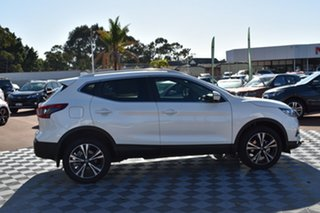 2019 Nissan Qashqai J11 Series 3 MY20 ST-L X-tronic White 1 Speed Constant Variable Wagon