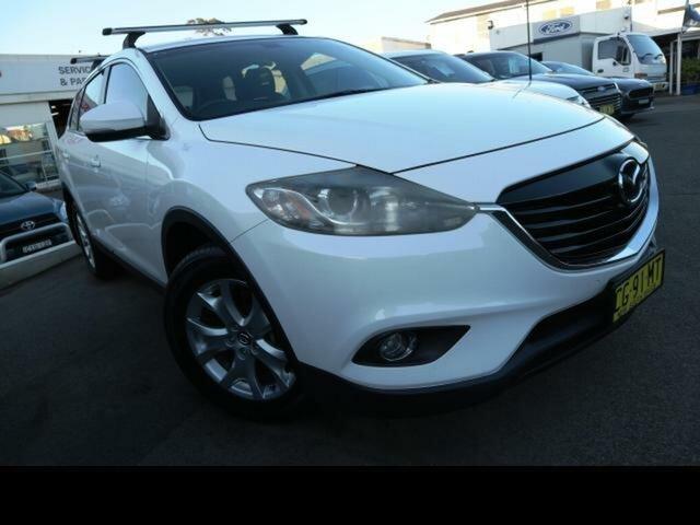 Used Mazda CX-9 10 Upgrade Classic (FWD), 2012 Mazda CX-9 10 Upgrade Classic (FWD) White 6 Speed Auto Activematic Wagon
