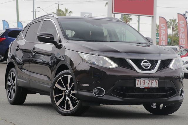 Used Nissan Qashqai J11 TI, 2014 Nissan Qashqai J11 TI Nightshade 1 Speed Constant Variable Wagon
