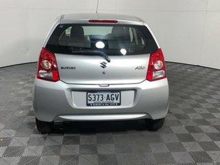 2010 Suzuki Alto GF GL Silver 5 Speed Manual Hatchback