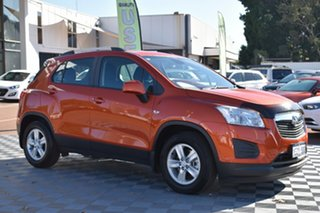 2016 Holden Trax TJ MY16 LS Orange 6 Speed Automatic Wagon.