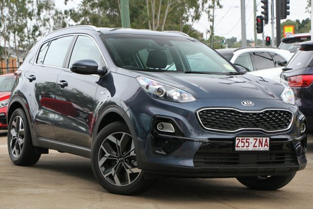 Used Kia Sportage QL MY20 SX AWD, 2019 Kia Sportage QL MY20 SX AWD Mercury Blue 8 Speed Sports Automatic Wagon