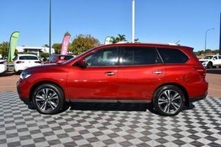 2017 Nissan Pathfinder R52 Series II MY17 Ti X-tronic 2WD Red 1 Speed Constant Variable Wagon