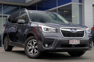 2019 Subaru Forester S5 MY20 2.5i-L CVT AWD Magnetite Grey 7 Speed Wagon.
