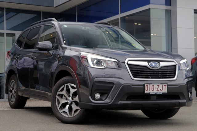 Demo Subaru Forester S5 MY20 2.5i-L CVT AWD, 2019 Subaru Forester S5 MY20 2.5i-L CVT AWD Magnetite Grey 7 Speed Wagon