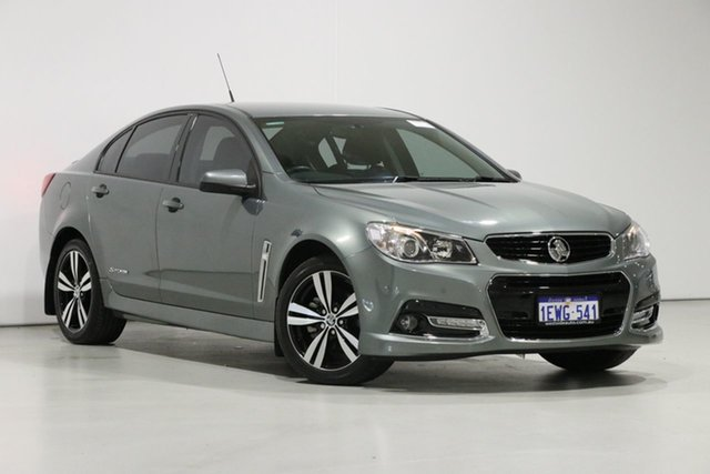 Used Holden Commodore VF MY15 SV6 Storm, 2015 Holden Commodore VF MY15 SV6 Storm Grey 6 Speed Automatic Sedan