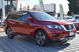 2017 Nissan Pathfinder R52 Series II MY17 Ti X-tronic 2WD Red 1 Speed Constant Variable Wagon.