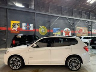 2012 BMW X3 F25 MY0412 xDrive30d Steptronic White 8 Speed Automatic Wagon