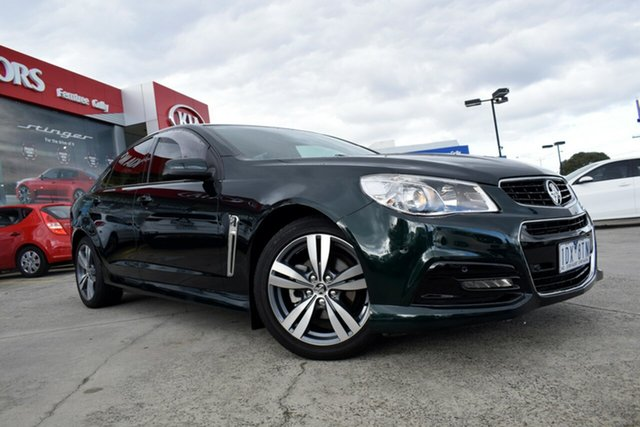 Used Holden Commodore VF MY14 SV6, 2014 Holden Commodore VF MY14 SV6 Green 6 Speed Sports Automatic Sedan