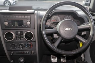 2007 Jeep Wrangler JK Unlimited Sport Silver 6 Speed Manual Softtop