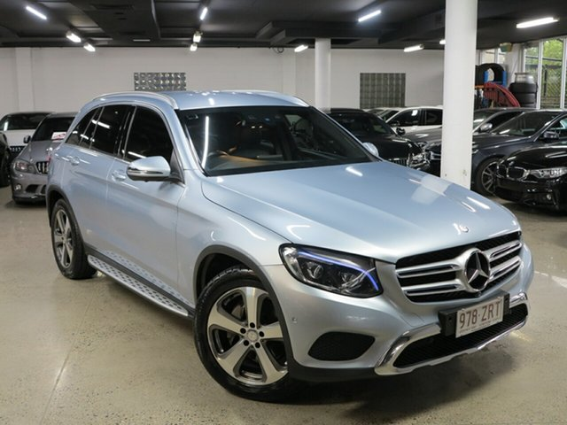 Used Mercedes-Benz GLC-Class X253 807MY GLC220 d 9G-Tronic 4MATIC, 2016 Mercedes-Benz GLC-Class X253 807MY GLC220 d 9G-Tronic 4MATIC Silver 9 Speed Sports Automatic