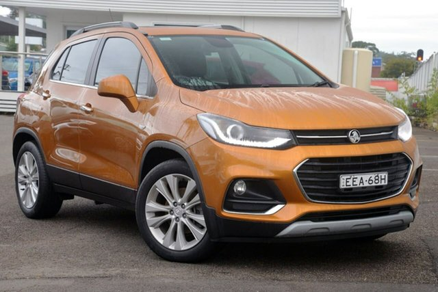 Used Holden Trax TJ MY17 LT, 2017 Holden Trax TJ MY17 LT Orange 6 Speed Automatic Wagon