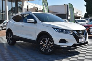 2019 Nissan Qashqai J11 Series 3 MY20 ST-L X-tronic White 1 Speed Constant Variable Wagon.
