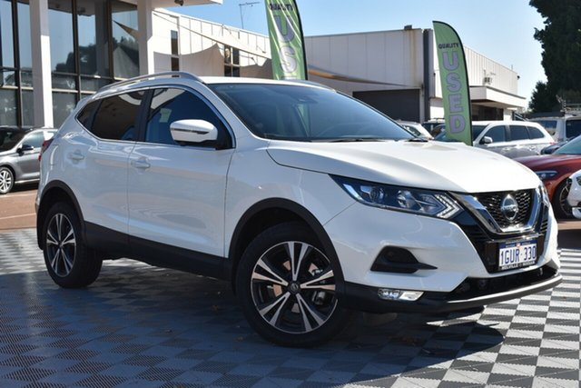 Used Nissan Qashqai J11 Series 3 MY20 ST-L X-tronic, 2019 Nissan Qashqai J11 Series 3 MY20 ST-L X-tronic White 1 Speed Constant Variable Wagon