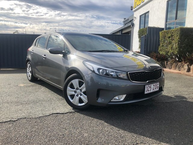 Used Kia Cerato YD MY17 S, 2016 Kia Cerato YD MY17 S Silver 6 Speed Sports Automatic Hatchback