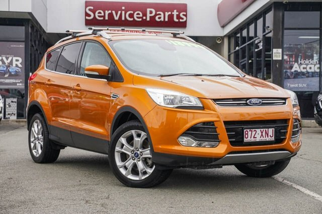 Used Ford Kuga TF MY16.5 Trend AWD, 2016 Ford Kuga TF MY16.5 Trend AWD Gold 6 Speed Sports Automatic Wagon