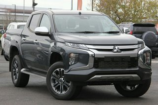 2019 Mitsubishi Triton MR MY20 GLS Double Cab Graphite Grey 6 Speed Sports Automatic Utility.