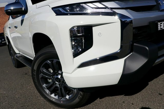 New Mitsubishi Triton MR MY19 GLS Double Cab Premium, 2019 Mitsubishi Triton MR MY19 GLS Double Cab Premium White 6 Speed Sports Automatic Utility