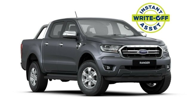 New Ford Ranger PX MkIII 2020.25MY XLT Pick-up Double Cab, 2020 Ford Ranger PX MkIII 2020.25MY XLT Pick-up Double Cab Meteor Grey 10 Speed Sports Automatic