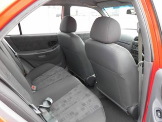 2004 Hyundai Accent LC MY04 GL Red 4 Speed Automatic Hatchback