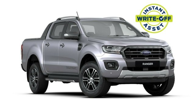 New Ford Ranger PX MkIII 2020.25MY Wildtrak Pick-up Double Cab, 2020 Ford Ranger PX MkIII 2020.25MY Wildtrak Pick-up Double Cab Aluminium 10 Speed Sports Automatic
