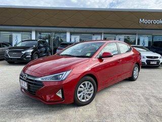2019 Hyundai Elantra AD.2 MY19 Go Firey Red 6 Speed Sports Automatic Sedan.