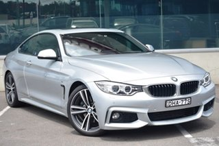 2015 BMW 4 Series F32 428i Modern Line Silver 8 Speed Sports Automatic Coupe.