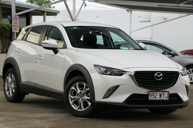 Used Mazda CX-3 DK2W76 Maxx SKYACTIV-MT, 2016 Mazda CX-3 DK2W76 Maxx SKYACTIV-MT Snowflake White 6 Speed Manual Wagon