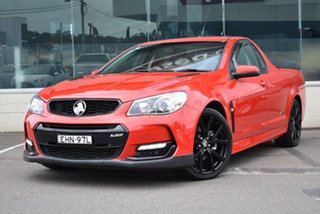 2017 Holden Ute VF II MY17 SS Ute Red 6 Speed Sports Automatic Utility