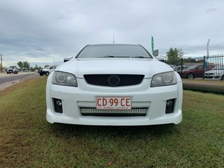 2009 Holden Ute VE MY09.5 SV6 White 6 Speed Manual Utility.