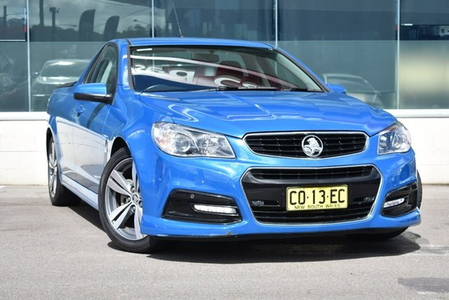 Used Holden Ute VF MY14 SV6 Ute, 2014 Holden Ute VF MY14 SV6 Ute Blue 6 Speed Sports Automatic Utility