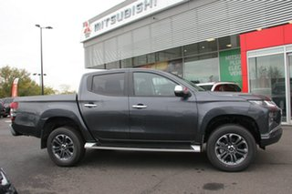 2021 Mitsubishi Triton MR MY21 GLS Double Cab Graphite Grey 6 Speed Sports Automatic Utility