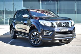 2017 Nissan Navara D23 S2 ST N-SPORT Black 6 Speed Manual Utility.