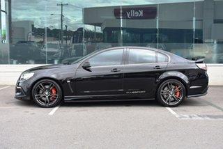 2015 Holden Special Vehicles ClubSport Gen-F2 MY16 R8 LSA Black 6 Speed Manual Sedan.