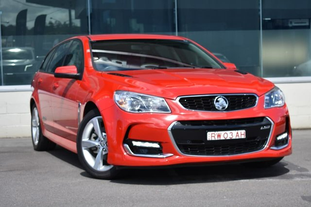 Used Holden Commodore VF MY15 SS Sportwagon, 2015 Holden Commodore VF MY15 SS Sportwagon Red 6 Speed Sports Automatic Wagon