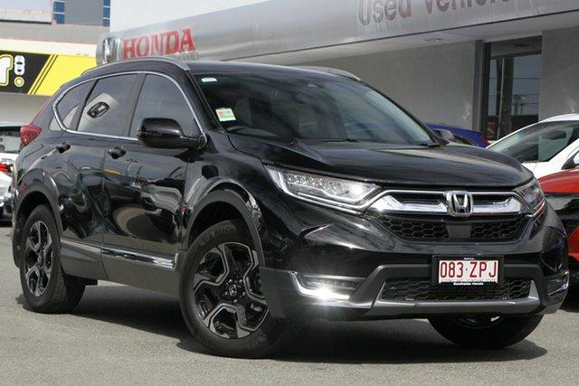 Demo Honda CR-V RW MY20 VTi-LX 4WD, 2020 Honda CR-V RW MY20 VTi-LX 4WD Crystal Black 1 Speed Constant Variable Wagon