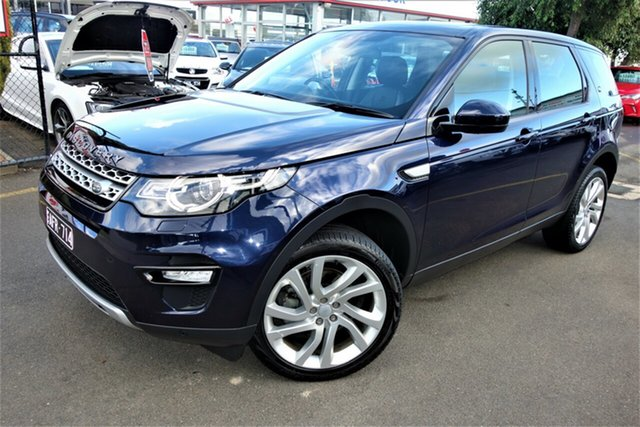 Used Land Rover Discovery Sport L550 15MY SD4 HSE, 2015 Land Rover Discovery Sport L550 15MY SD4 HSE Blue 9 Speed Sports Automatic Wagon