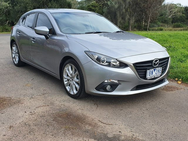 Used Mazda 3  SP25, 2013 Mazda 3 BM Series SP25 Silver Sports Automatic Hatchback